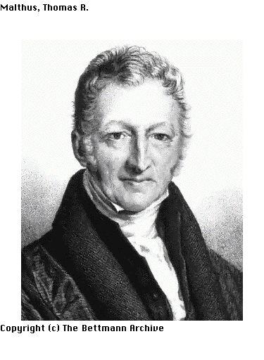 thomas malthus essay on populations