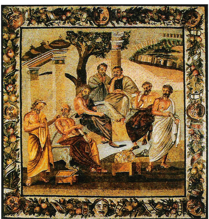Plato in Athens Tapestry